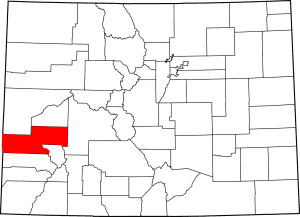 Montrose County Colorado Map
