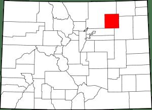 Morgan County Colorado Map