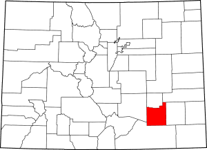 Otero County Colorado Map