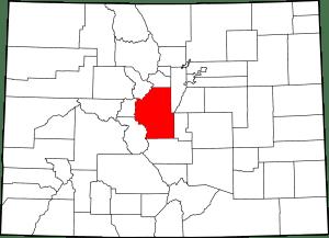Park County Colorado Map