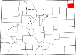 Phillips County Colorado Map