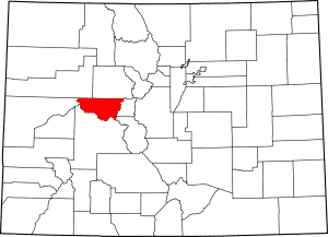 Pitkin County Colorado Map