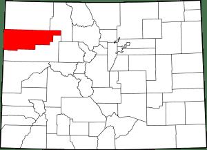 Rio Blanco County Colorado Map