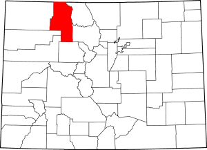 Routt County Colorado Map