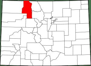 Routt County Colorado Map