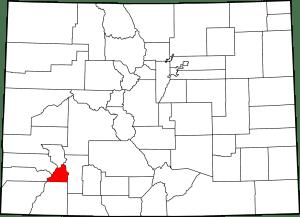 San Juan County Colorado Map