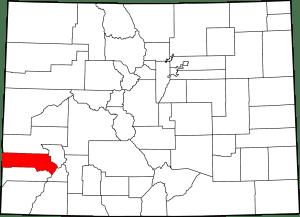 San Miguel County Colorado Map