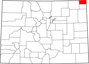 Sedgwick County Colorado Map
