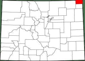 Sedgwick County Colorado Map