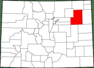 Washington County Colorado Map