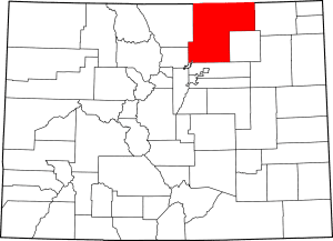 Weld County Colorado Map