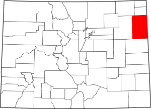 Yuma County Colorado Map