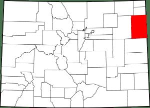 Yuma County Colorado Map