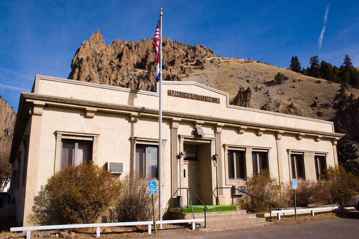 Mineral County Courthouse Creede Colorado