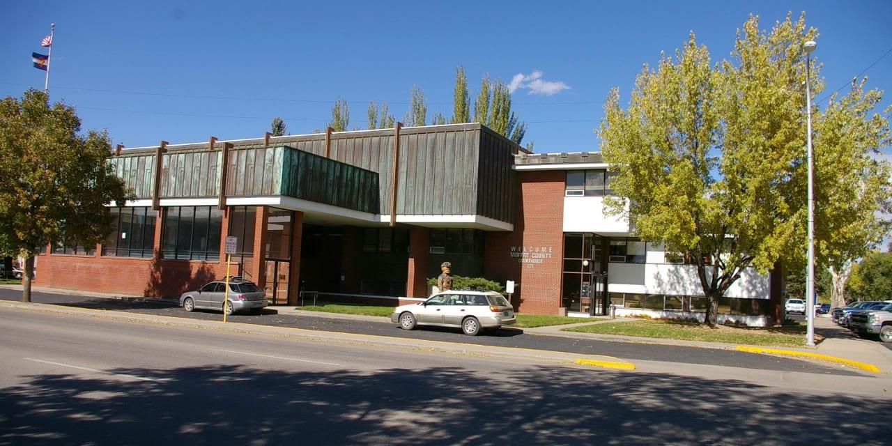 Moffat County Courthouse Craig Colorado