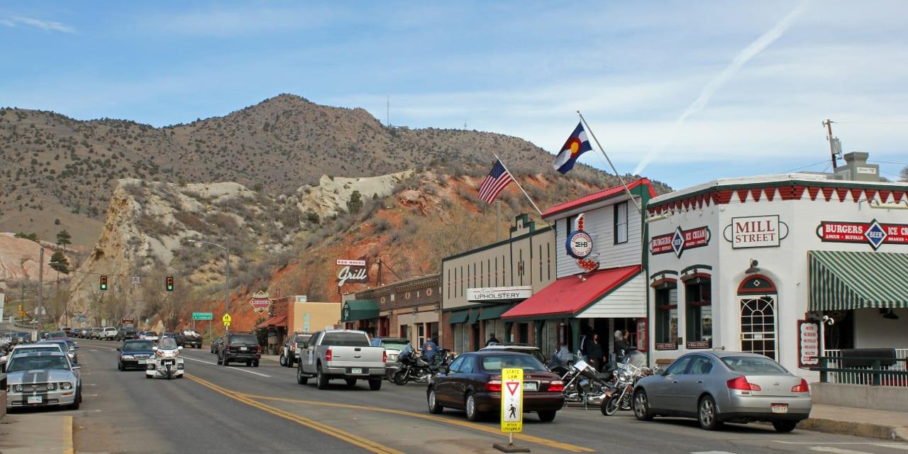 Morrison Colorado Historic District