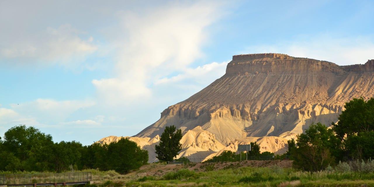 Mount Garfield Palisade Colorado
