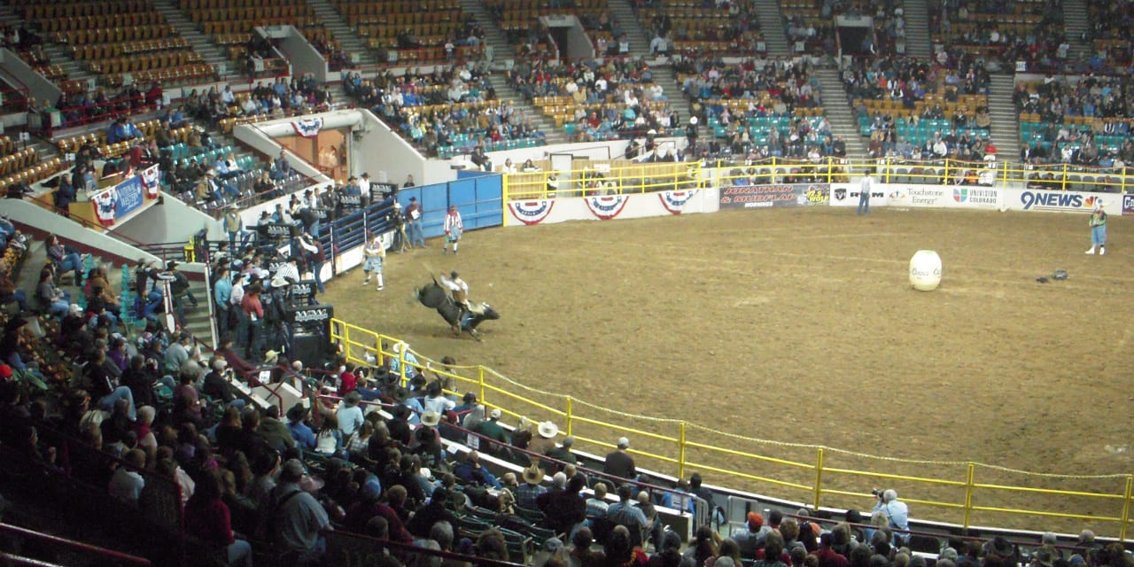 National Western Stock Show Bull Riding