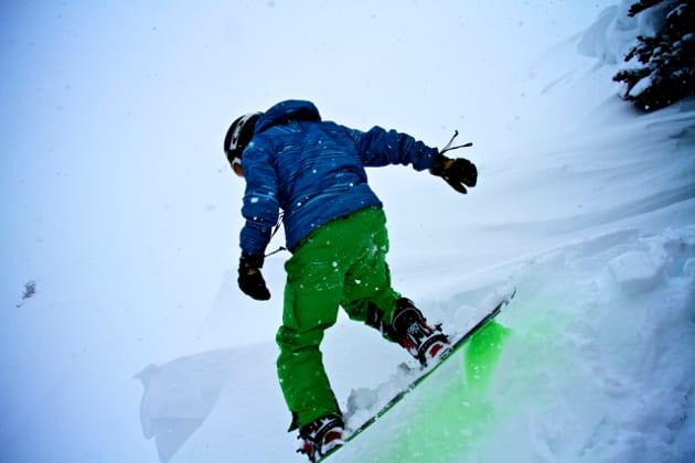 Never Summer Snowboard Berthoud Pass