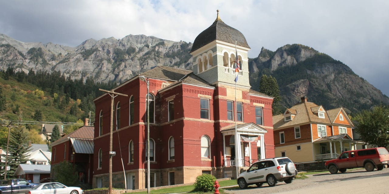 Ouray County Courthouse Ouray Colorado