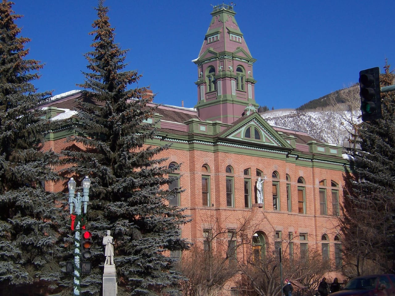 Pitkin County Courthouse Aspen Colorado