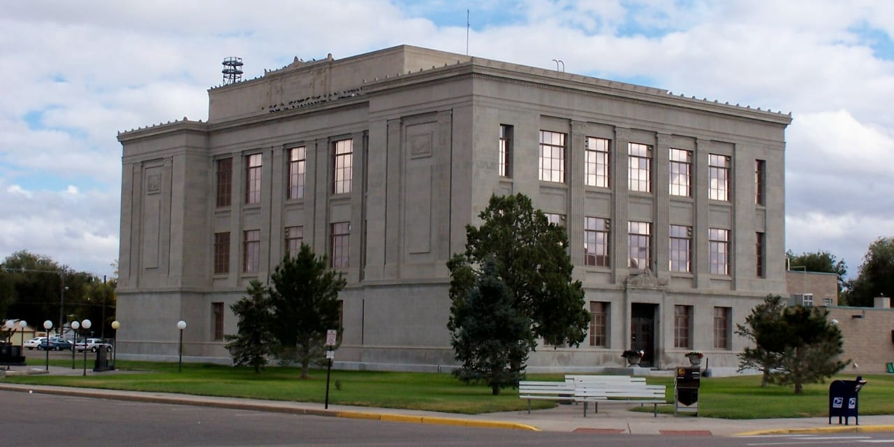 Prowers County Courthouse Lamar Colorado