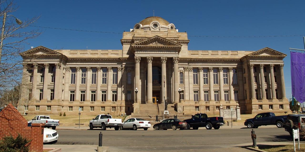 Pueblo County Courthouse Pueblo Colorado