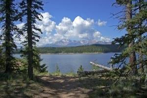 Rampart Reservoir Pikes Peak