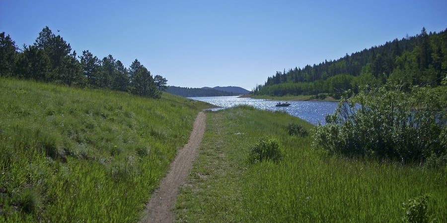 Rampart Reservoir Hiking Trail