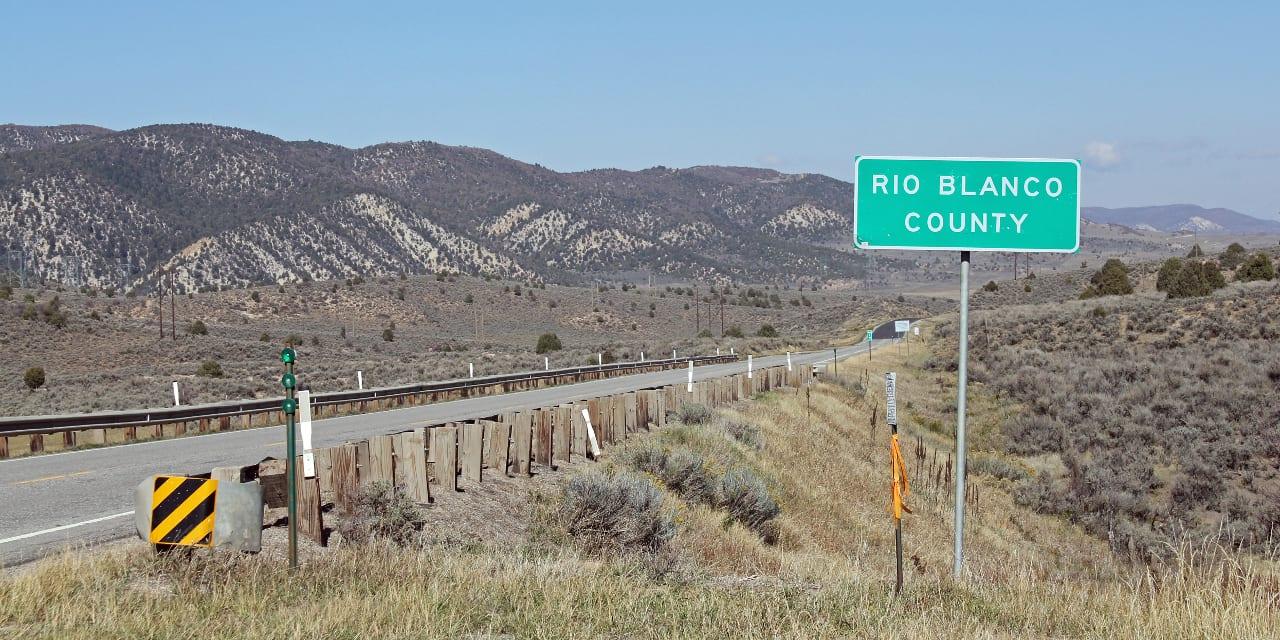 Highway 13 Rio Blanco County Colorado