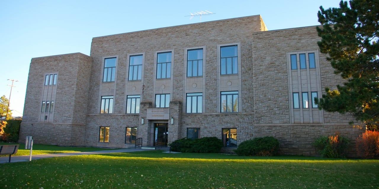 Rio Grande County Courthouse Del Norte Colorado