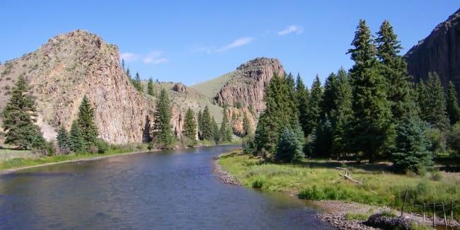 Rio Grande River Creede Colorado