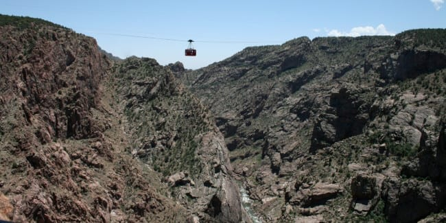 Royal Gorge Aerial Tram Cañon City