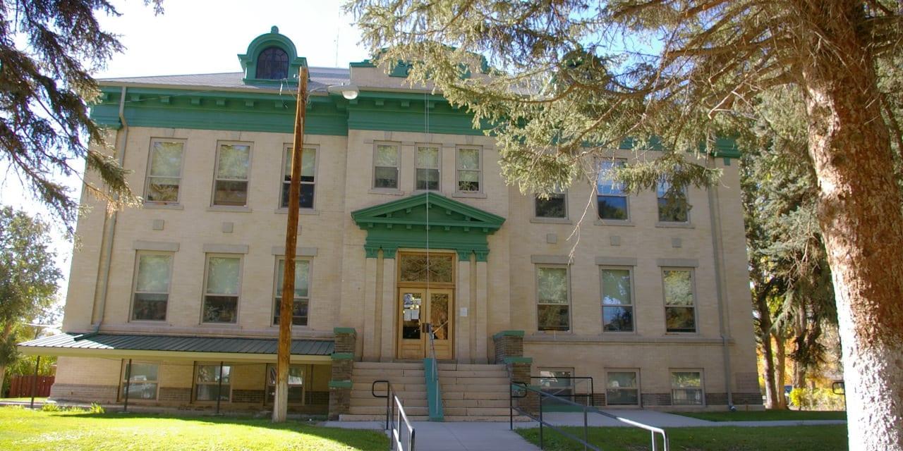 Saguache County Courthouse Saguache Colorado
