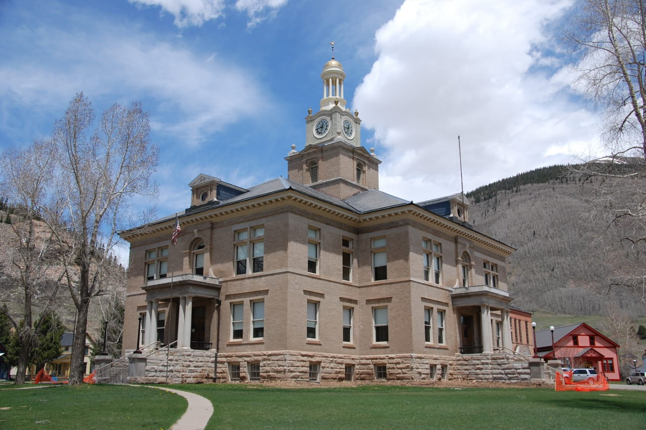 San Juan County Courthouse Silverton Colorado