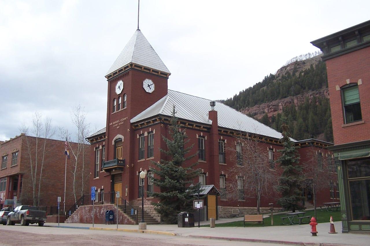San Miguel County Courthouse Silverton Colorado