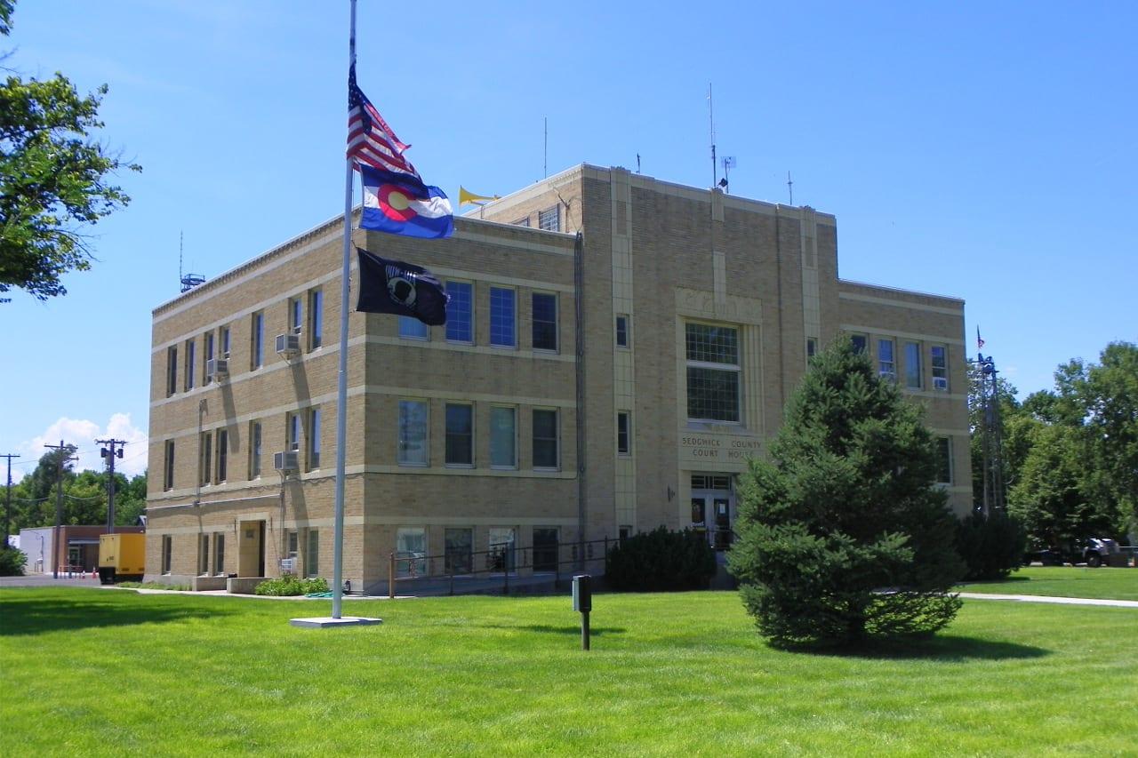 Sedgwick County Courthouse Julesburg Colorado