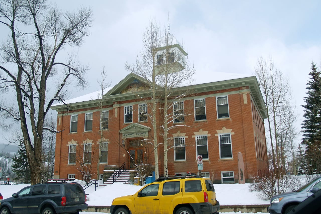 Summit County Courthouse Breckenridge Colorado
