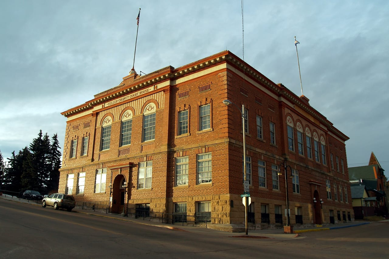 Teller County Courthouse Cripple Creek Colorado