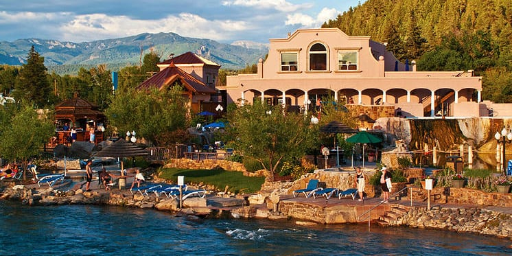 spend a day or night at these 15 hot springs colorado. Black Bedroom Furniture Sets. Home Design Ideas