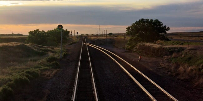 Train Tracks Logan County Colorado