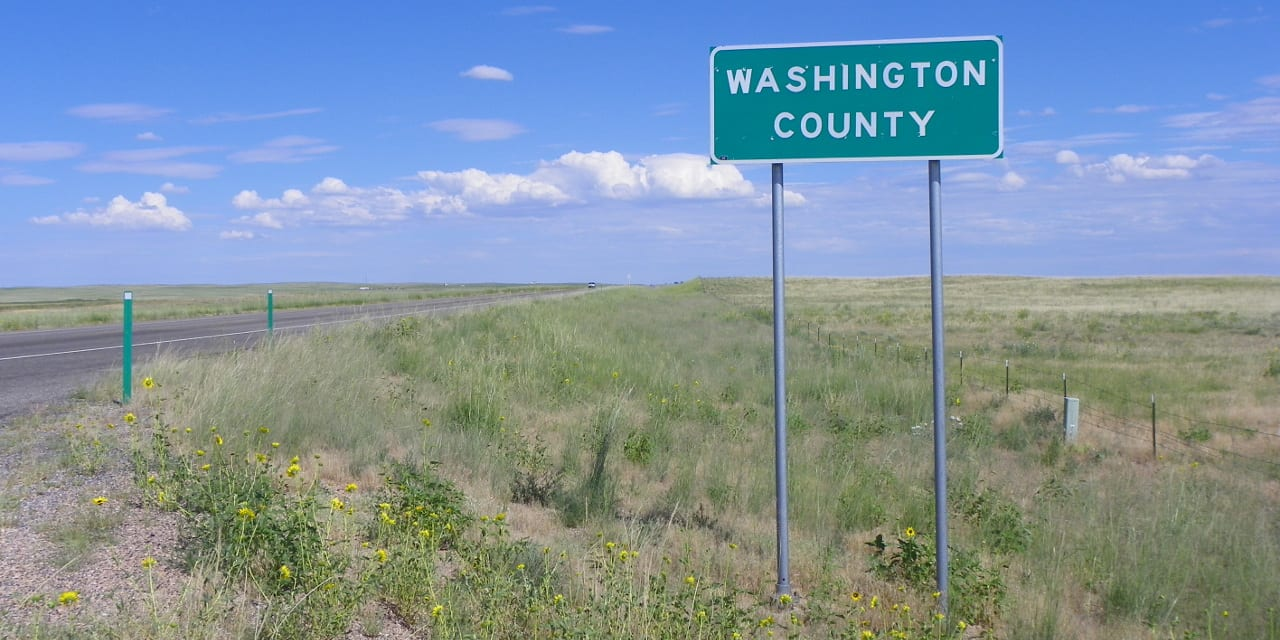 Washington County Colorado