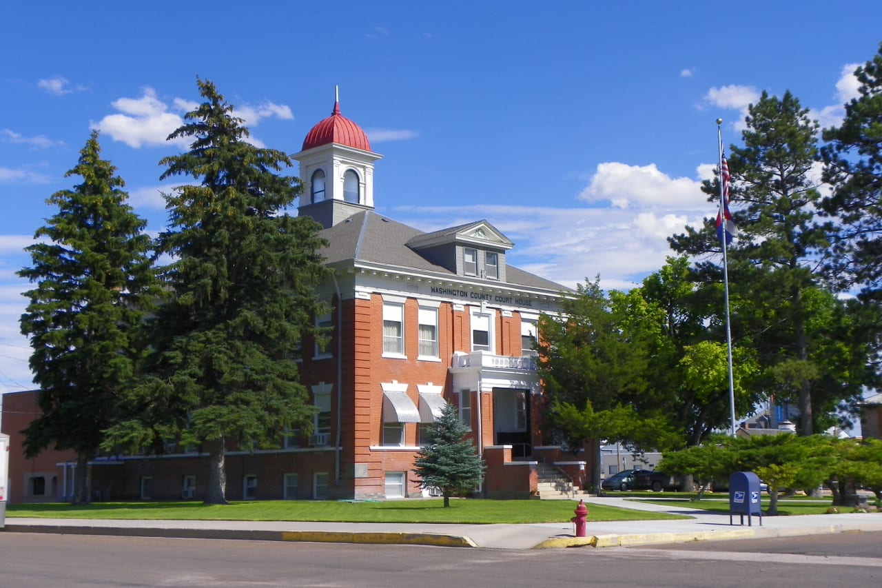 Washington County Courthouse Akron Colorado