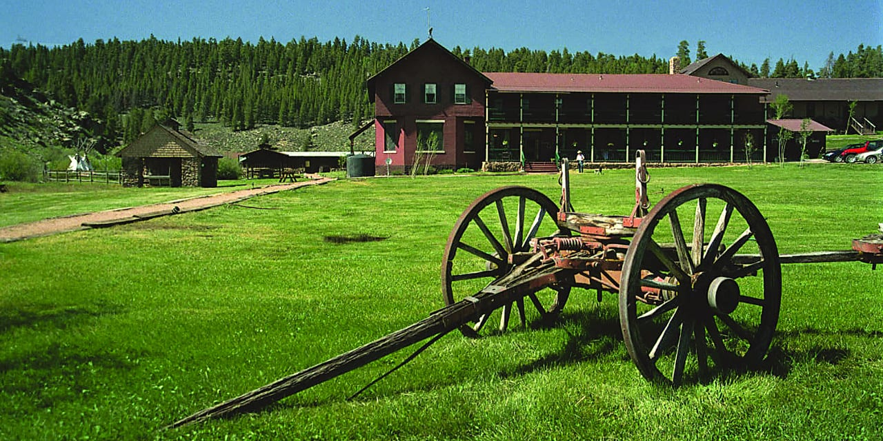 Waunita Hot Springs Ranch Wagon