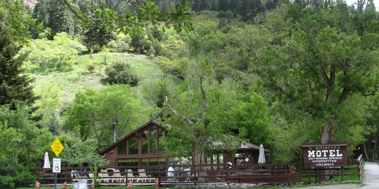 Wiesbaden Hot Springs Ouray