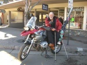 Weems Westfeldt Motorcycle Ski Rack