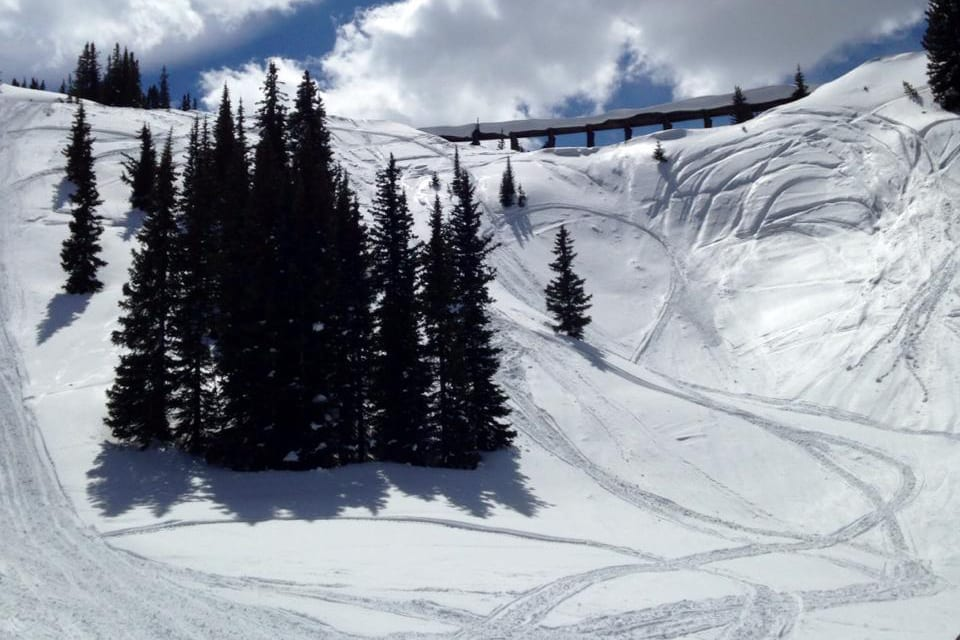 Winter Park Colorado Spring Snowmobiling