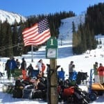 Arapahoe Basin Beach Flag