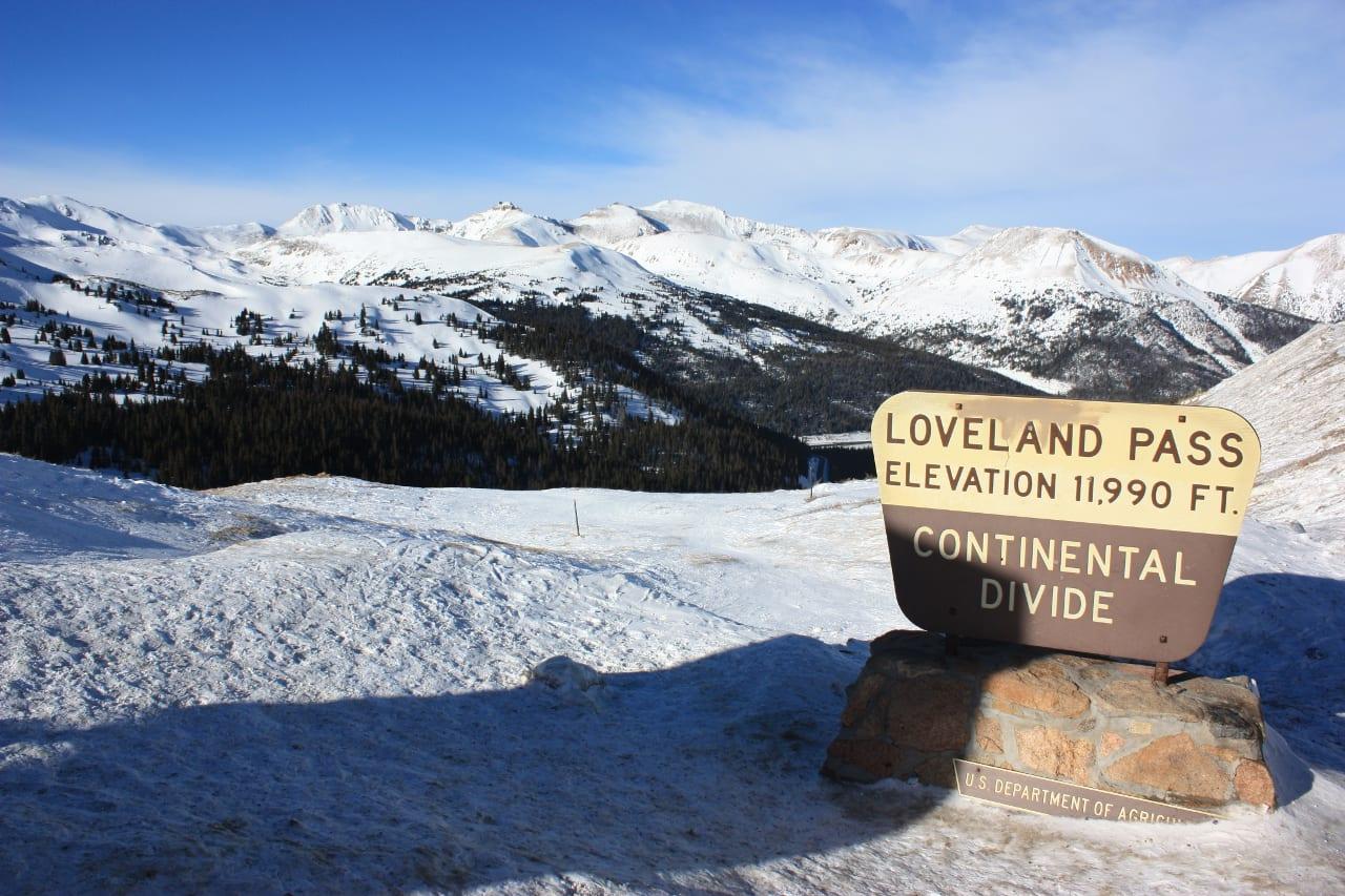 Loveland Pass Continental Divide