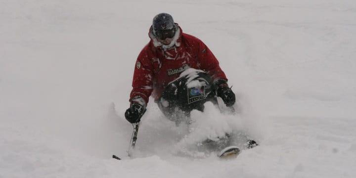Matt Feeney Adaptive Powder Skiing